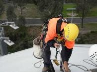 High Rope Access Works - AMMI Park 3