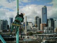 High Rope Access Works - Docklands 7